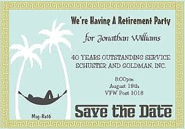 8 Best Images Of Save The Date Retirement Templates
