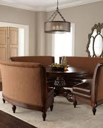 thinking about this for my dining room marie dining table hudson banquette by moud at horchow