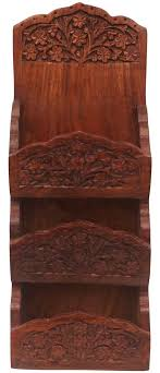 bulk whole mail holder in rosewood hand carved 11 8 letter holder mail
