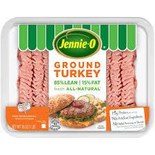 ground turkey jennie o
