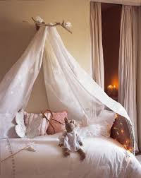 Sheer Bed Canopy Girls Room