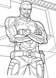 Small Picture Captain Duke Hauser of GI Joe Coloring Pages Batch Coloring