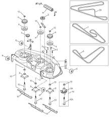 ayp 44 inch to 54 inch deck parts lawnmower pros ayp 44 to 54 inch deck parts diagram