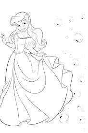 Ariel Printables Princesses Princess Ariel Coloring Page Pdf