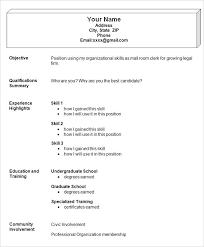 Simple Resume Sample Best Simple Resume Sample 28 Gahospital Pricecheck