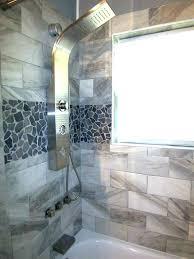 showers rock shower walls tile showers river floor cool wood grain porcelain grey stone mosaic