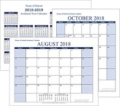 School Calendar Templates Free Calendars And Calendar Templates Printable Calendars