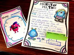 descriptive writing monster match sssteaching descriptive writing essays is our big project this unit but this paragraph was a fun way to reinforce and practice connecting it to previous lessons