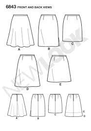 Skirt Pattern New Sewing Patterns Skirts Pants Jaycottscouk Sewing Supplies