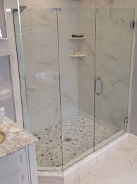 90 degree shower enclosure spray panel frameless custom glass shower door