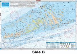 Noaa Charts Florida Keys Florida Keys Chart Kit Offshore Fish Dive Nautical Map Chart