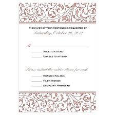 Response Cards Size Wedding Invitation Rsvp Cards Developmentbox