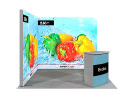 Exhibition Display Stands Uk Inspiration LED Brightwall Backlit Exhibition Display Nomadic Display UK
