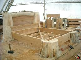rustic bed plans. Simple Plans Rustic Log Bed Frames Frame Plans Best  Ideas On With