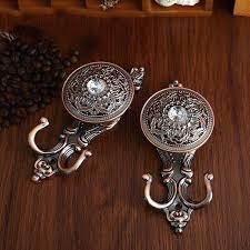 rustic metal wall hooks rustic crystal metal wall hooks antique bronze decorative shabby chic coat hook