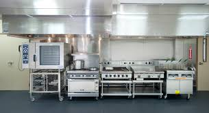Glamorous Restaurant Kitchen Layout 3d Equipment On Within