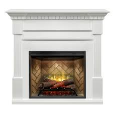 dimplex christina builtrite mantel electric fireplace with 30 revillusion direct wire firebox r30 gds30r 1801w