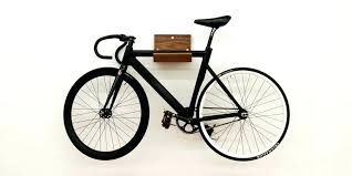 wood bicycle wall mount wooden bike rack wall mount bike rack shelf in maple or walnut wood bicycle wall mount