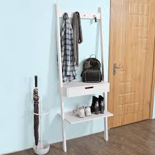 Shelf And Coat Rack Haotiangroup Rakuten Haotian Ladder Shelf Coat Rack Storage 84
