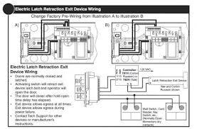 how to coordinate automatic doors with locking devices dengarden Door Strike Wiring Diagram excerpted from norton door controls 6000 series installation instructions electric door strike diode wiring diagram