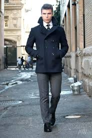slim fit pea coat how should a fit skinny fit peacoat