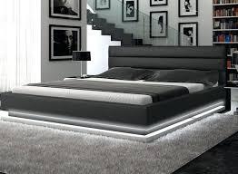 modern king bed frame. Exellent Bed Modern Platform Bed Frame Contemporary Black Leather With  Lights Bedroom King Size   For Modern King Bed Frame H