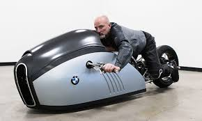 the bmw alpha motorcycle is as futuristic as it gets