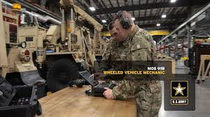 Army Mos Chart Wheeled Vehicle Mechanic 91b Goarmy Com
