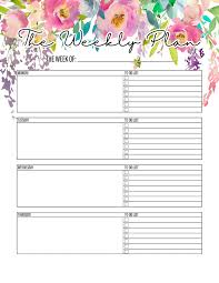 The Best 2019 Free Printable Planner To Organize Your Life