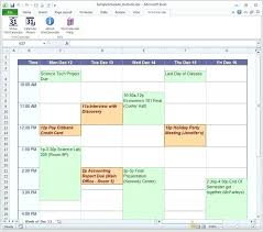 Scheduel Maker Daily Schedule Maker Template Yakult Co