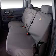 covercraft rear seat cover seatsaver carhartt gravel 60 40 split bench seat supercrew f