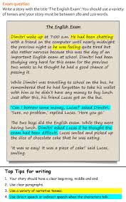 here s another great writing practice activity from our skills a story learnenglishteens practice for story writing organization narrative tenses