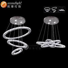 european modern home lighting high power led crystal chandelier om819