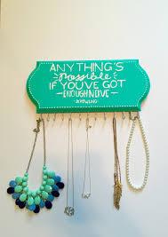 Hanging Necklace Organizer 100 Beautiful Creative Jewelry Organizers Zen Merchandiser