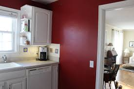 Red Wall Kitchen Red Kitchen Accent Wall 00173320170430 Ponyiexnet