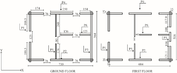 floor plan of a house with dimensions. Floor Plans Of The Log House (all Dimensions In Cm) Plan A With L