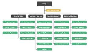 Active Directory Organizational Chart High School Structure Org Chart Free High School Structure