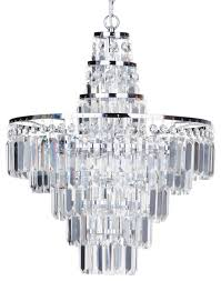 vasca crystal bar 4 light bathroom chandelier chrome