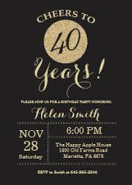40th Birthday Invitations Surprise 40th Birthday Invitations Zazzle Uk