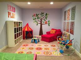 20 Stunning Basement Playroom Ideas - love that chair for a playroom!