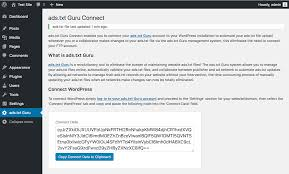 ads txt guru connect wordpress plugin