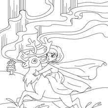 princess and the pea coloring page. the snow queen tale to color in - coloring page fairy tales pages princess and pea