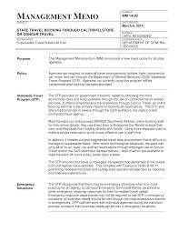 Business Management Memo Format Templates At