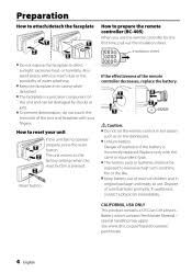 kenwood kdc bt652u reset instruction manual