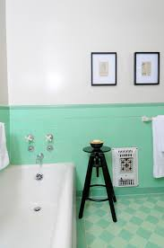 vintage bathroom with green tile traditional bathroom