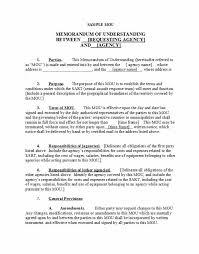 Example Of Office Memorandum Letter 50 Free Memorandum Of Understanding Templates Word