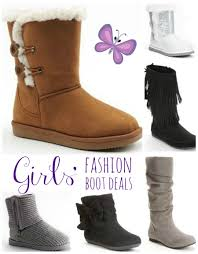 Kohls Shoe Size Chart Girls Fashion Boots Just 8 99 Each Shipped After Kohls