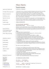bsn resume template nursing curriculum vitae word fresh graduate nurse  sample sensational design nurses examples registered