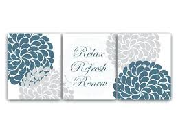 relax wall art items similar to bathroom wall art relax refresh renew canvas or prints teal relax wall art floral bathroom  on wall art set of 3 bathroom with relax wall art bathroom wall decor ideas relax wall art stickers