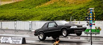 1987 Ford Mustang LX 4 Cyl 1/4 mile trap speeds 0-60 - DragTimes.com